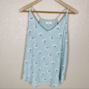 Loft mint green camisole blouse  in EUC size M